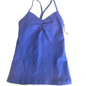 VIMMIA Pinch Front Camisole Workout Top S NWT